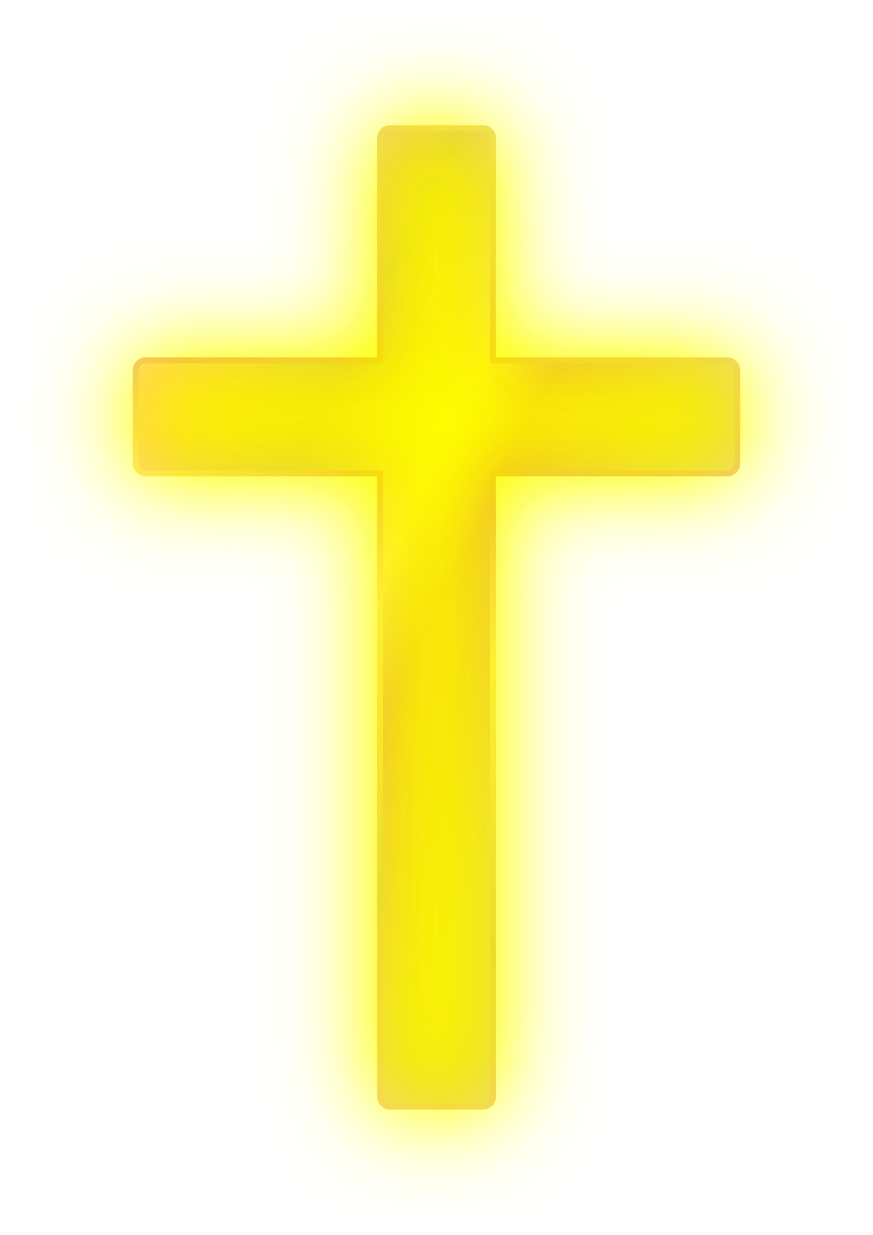 Clipart - Golden Cross image royalty free library