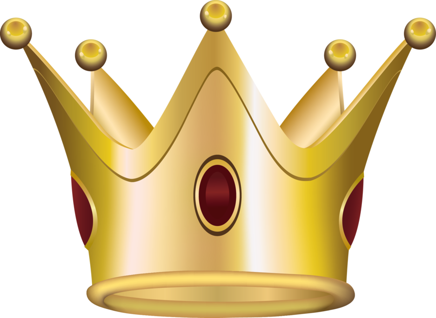 Crown and stars clipart. Gold png image purepng