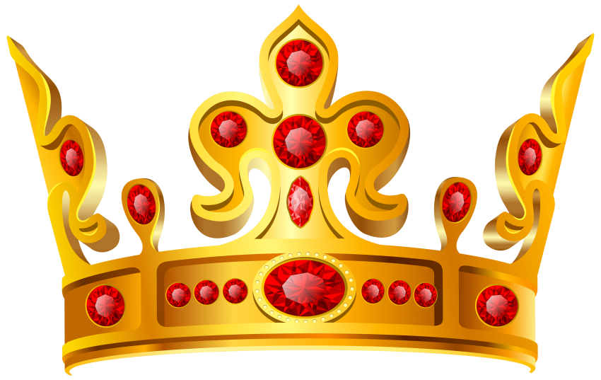 Clipart gold crown image royalty free download gold crown red stone png - Free PNG Images | TOPpng image royalty free download
