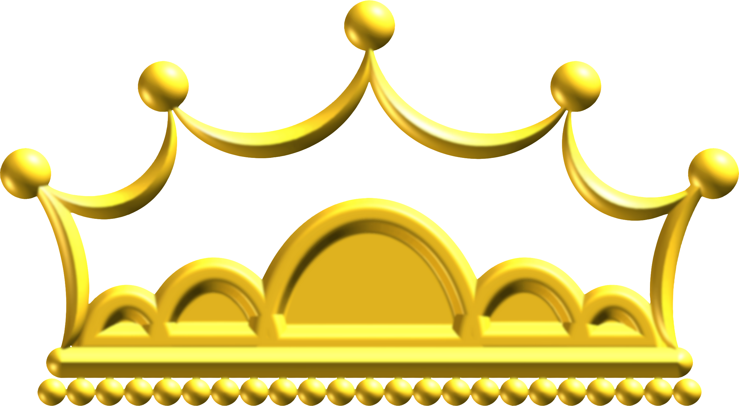 Clipart gold crown graphic library download Clipart - Gold crown 6 graphic library download