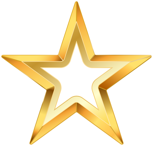Free gold star clipart graphic freeuse stock Gold Star PNG Transparent Clip Art Image | Gallery Yopriceville ... graphic freeuse stock