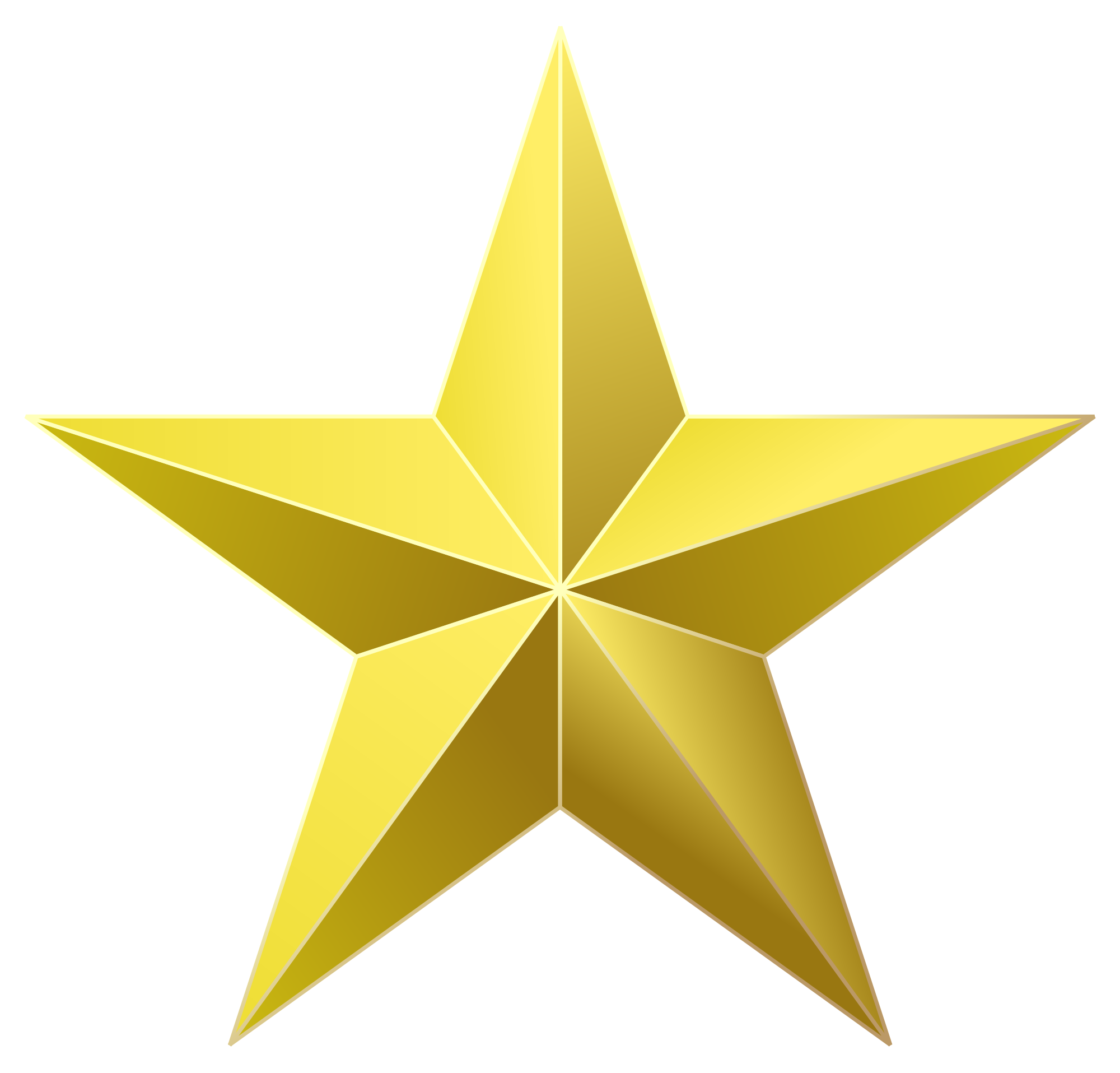 Gold star transparent clipart clipart download File:Golden star 2.svg - Wikimedia Commons clipart download