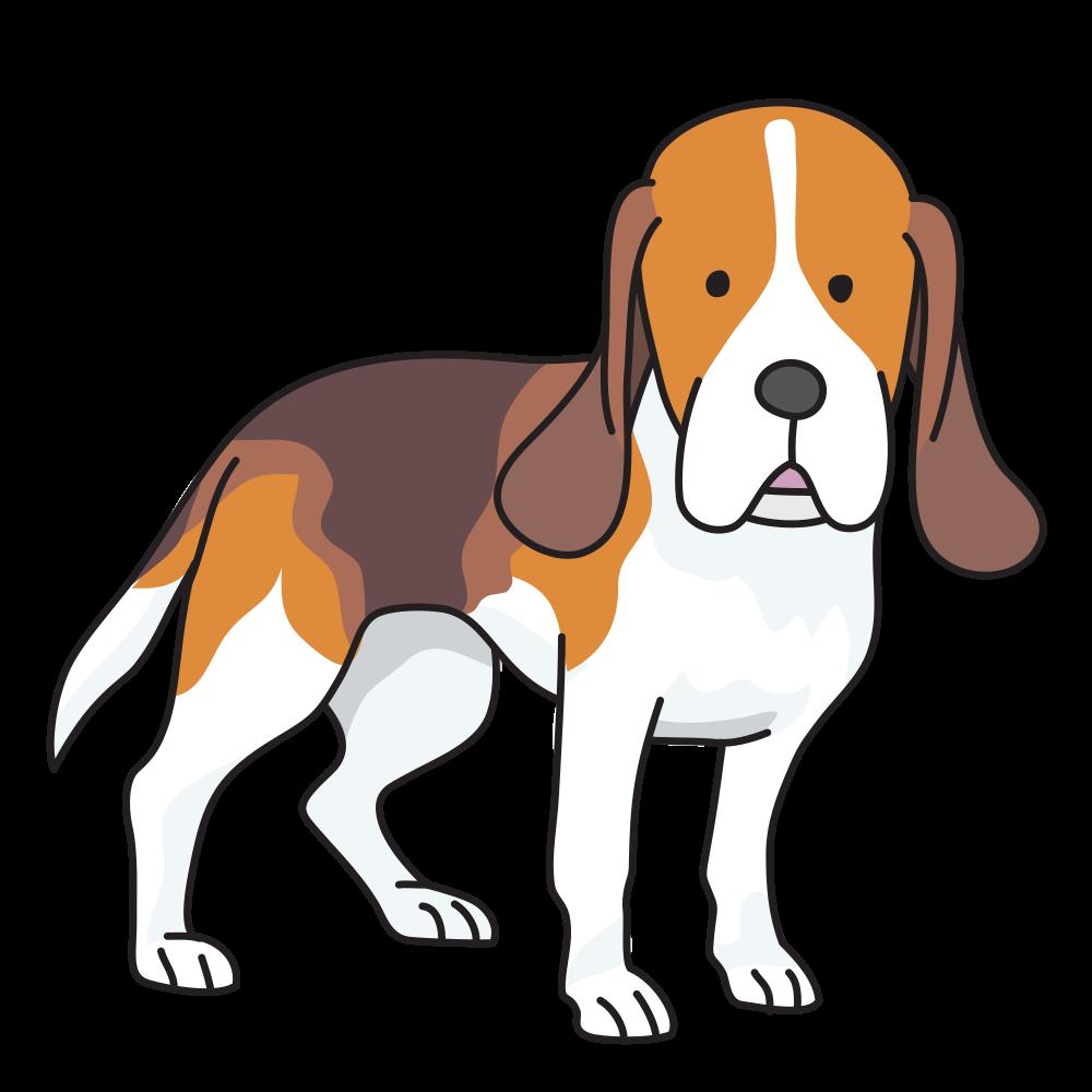 Clipart golden retriever dog jpg free OnlineLabels Clip Art - Dog - Beagle jpg free