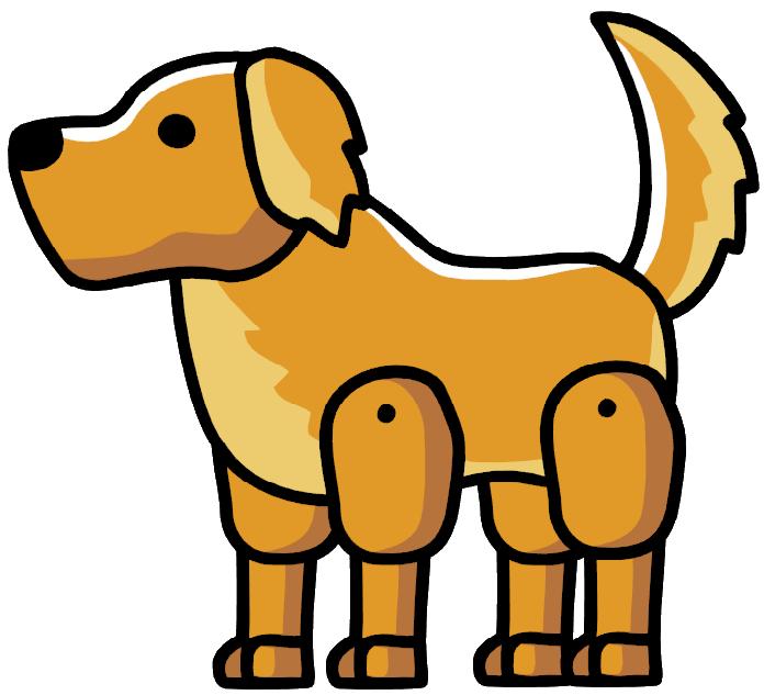 Clipart golden retriever dog image freeuse Golden Retriever | Scribblenauts Wiki | FANDOM powered by Wikia image freeuse