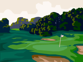 Clipart golf course pictures png black and white download 104+ Golf Course Clip Art | ClipartLook png black and white download