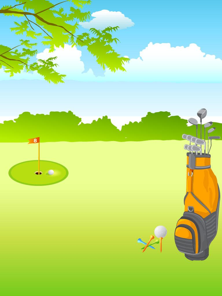 Clipart golf course pictures svg royalty free stock Best Free Golf Course Clip Art Vector Image » Free Vector Art ... svg royalty free stock