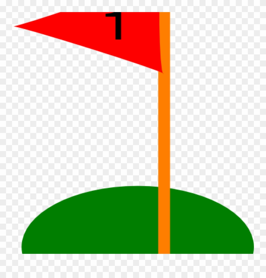 Clipart golf flag png transparent Golf Flag Clipart Hole Flags Ball Pencil And In Color - Golf - Png ... png transparent