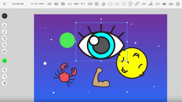 Clipart google images image black and white library Google's Autodraw AI instantly converts your doodles to clip art image black and white library