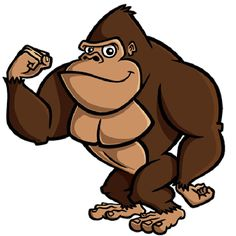Clipart gorilla image transparent library 64+ Gorilla Clip Art | ClipartLook image transparent library