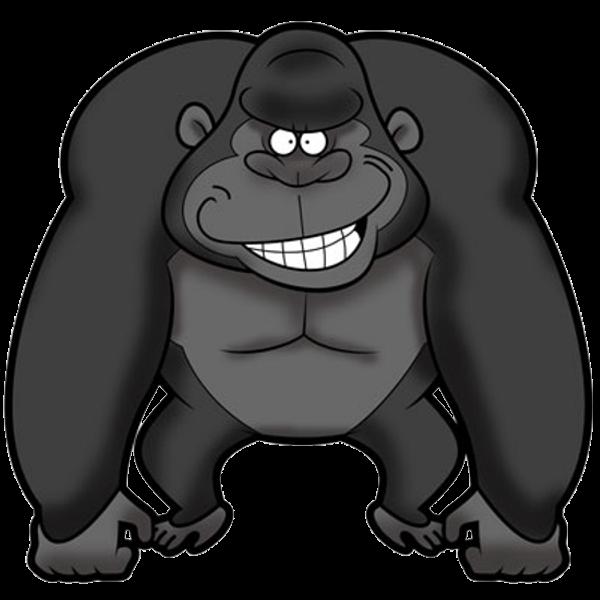 Clipart gorilla jpg free stock Gorilla clipart - Clip Art Library jpg free stock