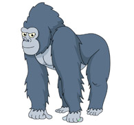 Clipart gorilla clip freeuse stock Free Gorilla Cliparts, Download Free Clip Art, Free Clip Art on ... clip freeuse stock