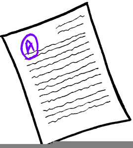 Graded papers clipart clip royalty free Grading Papers Clipart | Free Images at Clker.com - vector clip art ... clip royalty free