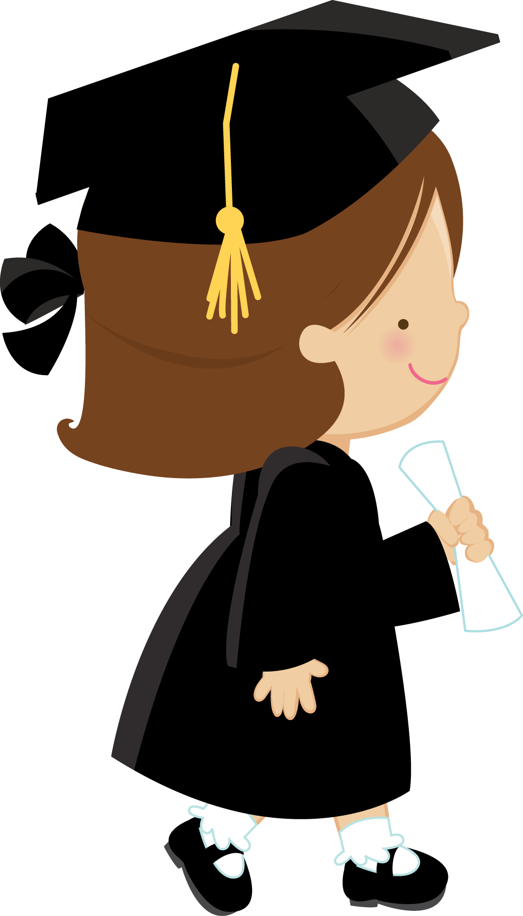 GRADUATION GIRL | Grคduคtion | Pinterest | Girls, Clip art and ... clip royalty free