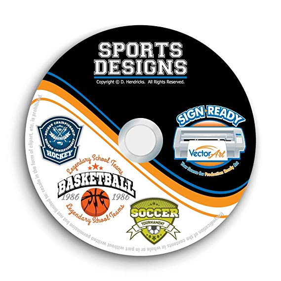 Vector clipart cd graphic freeuse download Amazon.com: Sports Designs Clipart-Vector Clip Art Images-T-Shirt ... graphic freeuse download