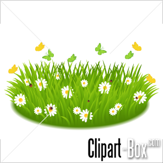 Clipart grass and flowers picture transparent stock CLIPART GRASS AND FLOWERS | Royalty free vector design picture transparent stock
