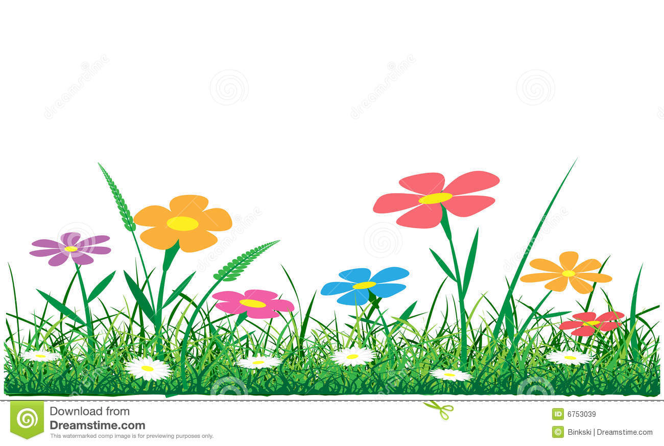 Clipart grass and flowers picture freeuse Clipart grass and flowers - ClipartFest picture freeuse