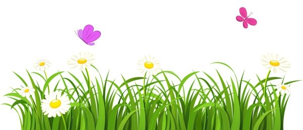 Clipart grass and flowers jpg freeuse Clipart grass flower - ClipartFest jpg freeuse