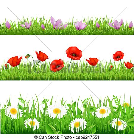 Clipart grass and flowers image download Grass And Flowers Clip Art | Clipart Panda - Free Clipart Images image download