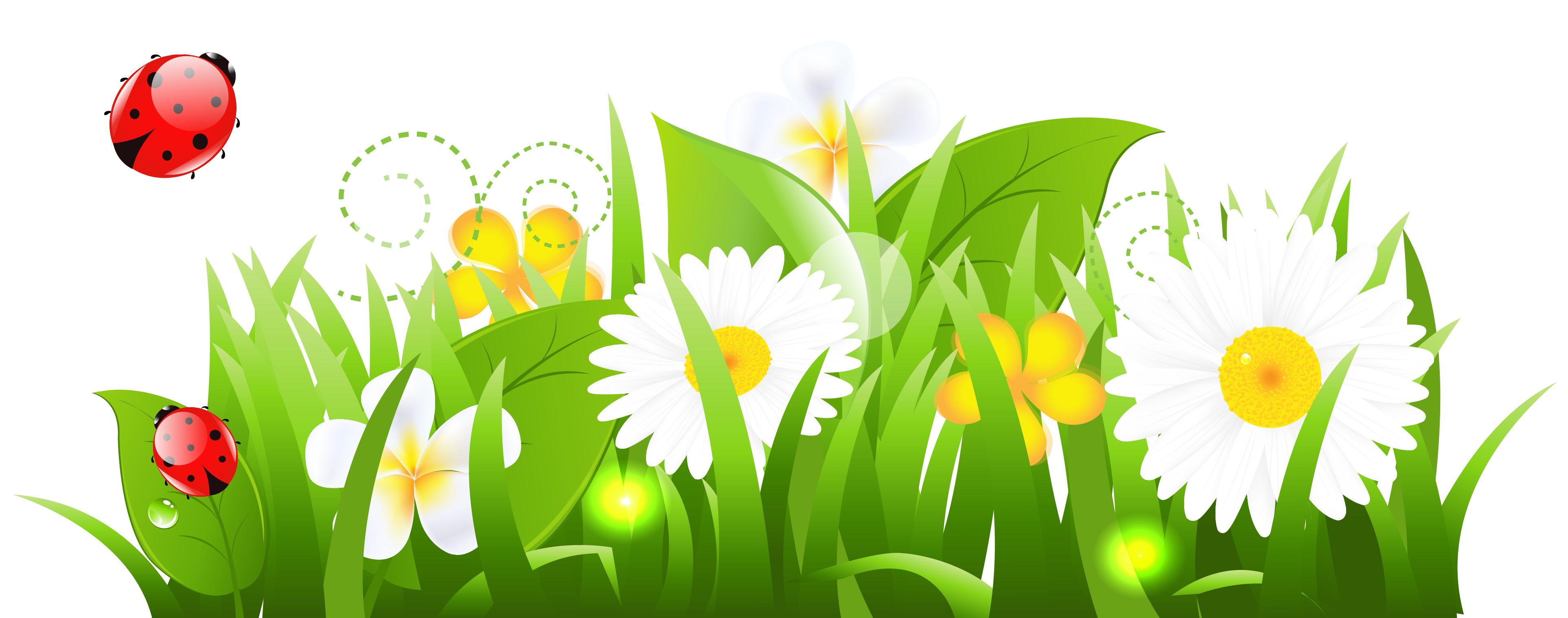 May clipart flowers clipart transparent library Grass and flowers clip art free clipart images clipartwiz - Clipartix clipart transparent library