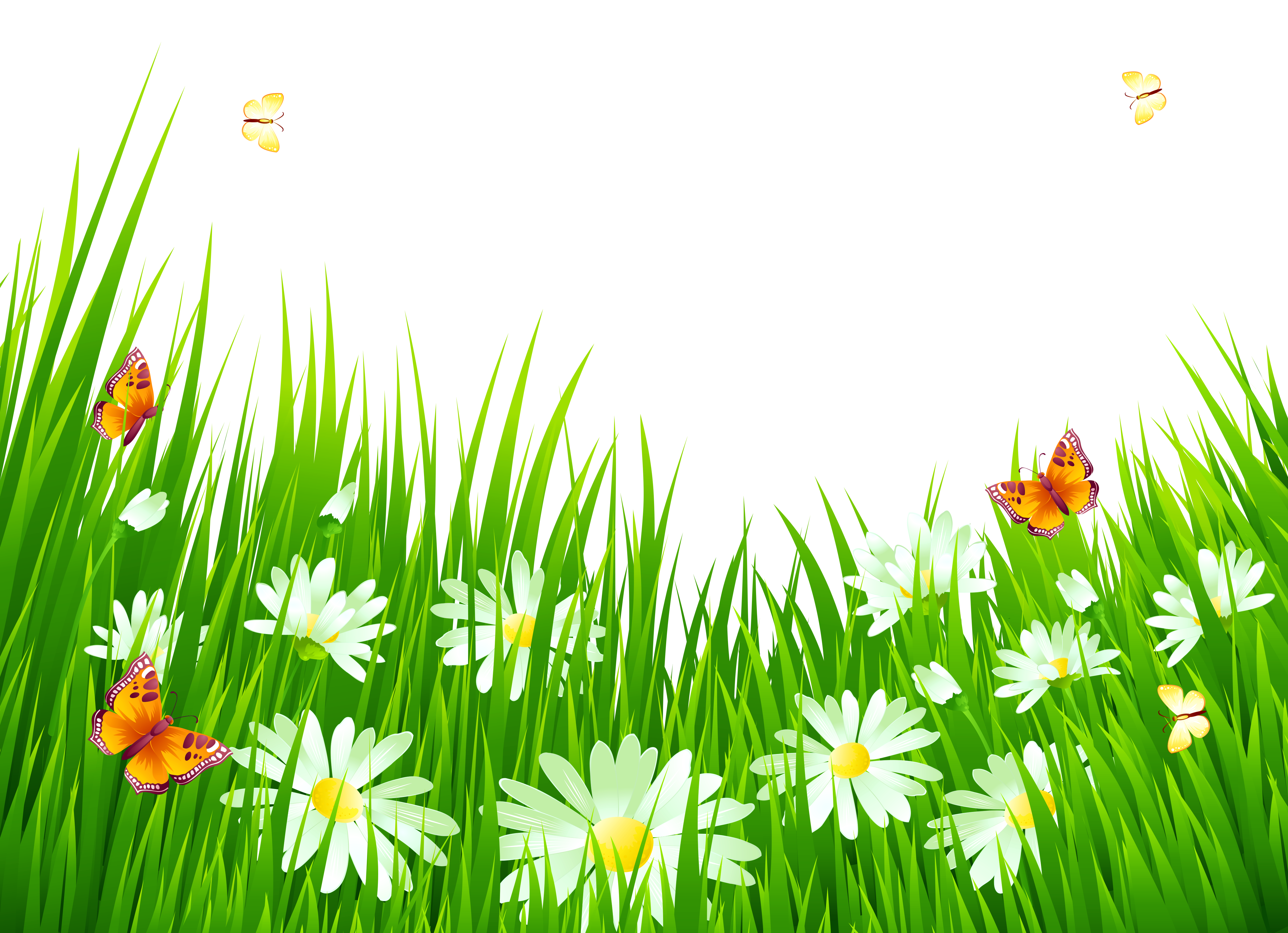 Clipart grass and flowers image free stock Grass and Flowers Clip Art – Clipart Free Download image free stock