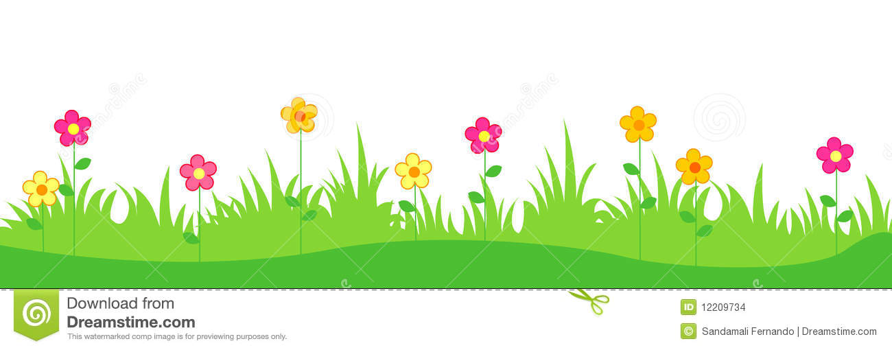 Clipart grass and flowers clip art black and white Clipart grass and flowers - ClipartFest clip art black and white
