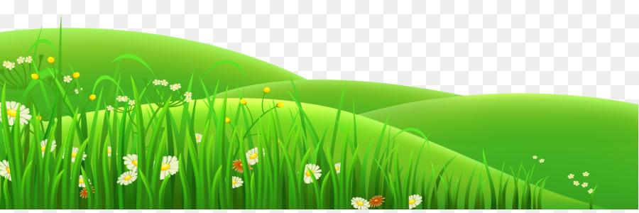 Grass field clipart