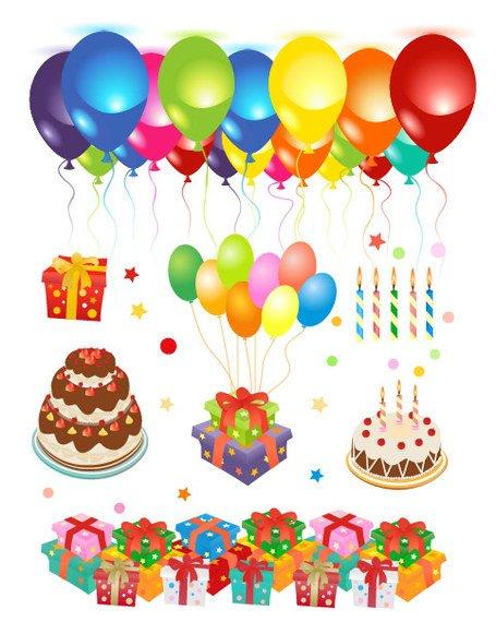 Clipart gratuit anniversaire banner transparent download Graphismes vectoriels et Clipart Joyeux Anniversaire gratuits ... banner transparent download