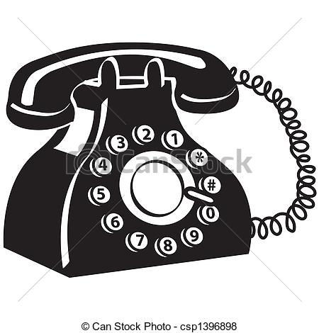 Clipart gratuit telephone vector black and white stock Phone Illustrations and Clip Art. 244,346 Phone royalty free ... vector black and white stock