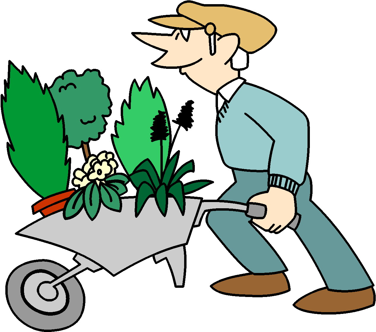 Clipart grdening clipart royalty free library Free Gardener Pictures, Download Free Clip Art, Free Clip Art on ... clipart royalty free library