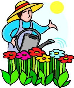 Clipart grdening free stock Garden Club News free stock