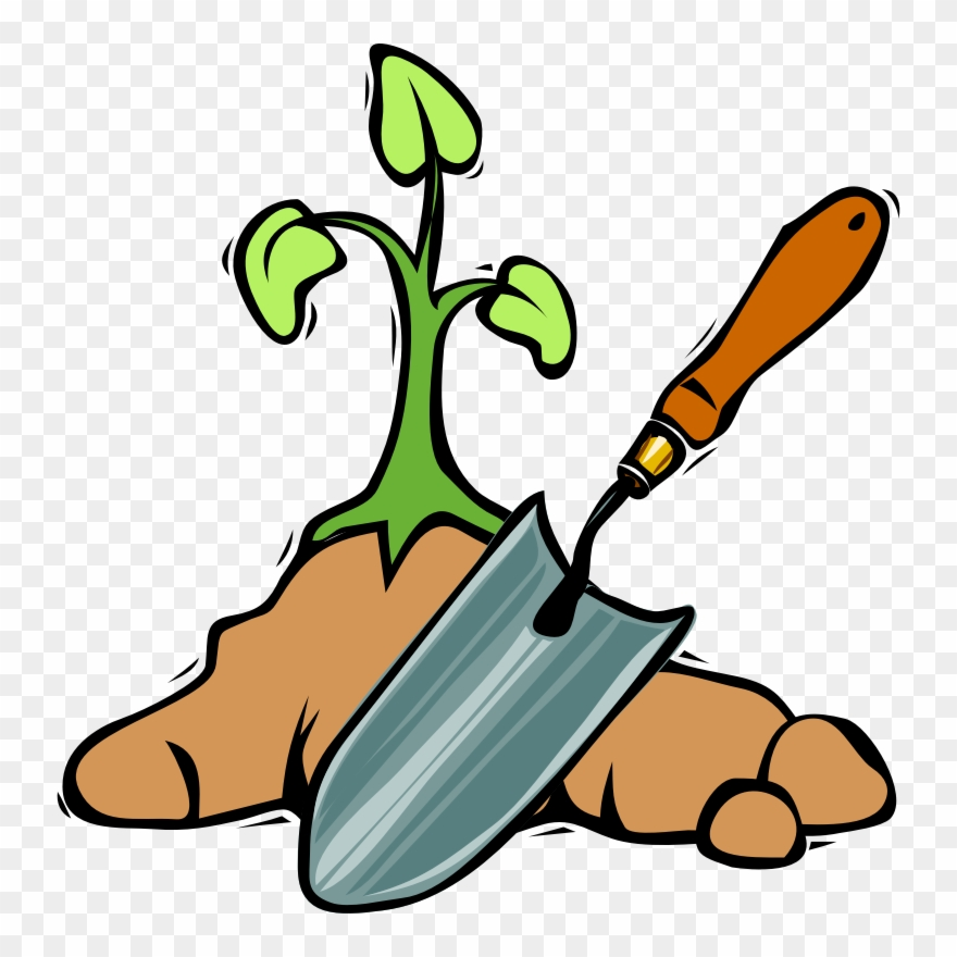 Clipart grdening picture royalty free Dig Clipart Tree Planting - Clipart Gardening Tools - Png Download ... picture royalty free