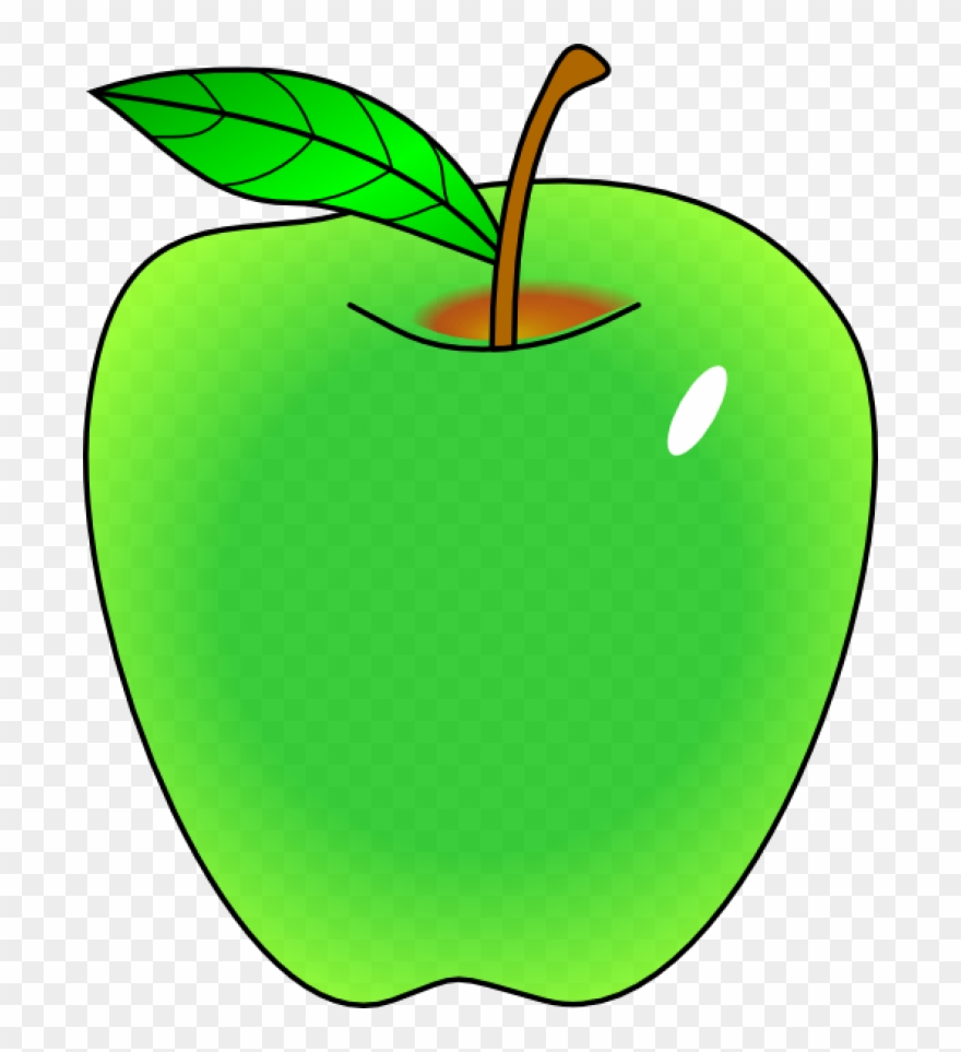 Clipart green graphic free stock Apple Clipart Vector - Clip Art Green Apple - Png Download (#427439 ... graphic free stock