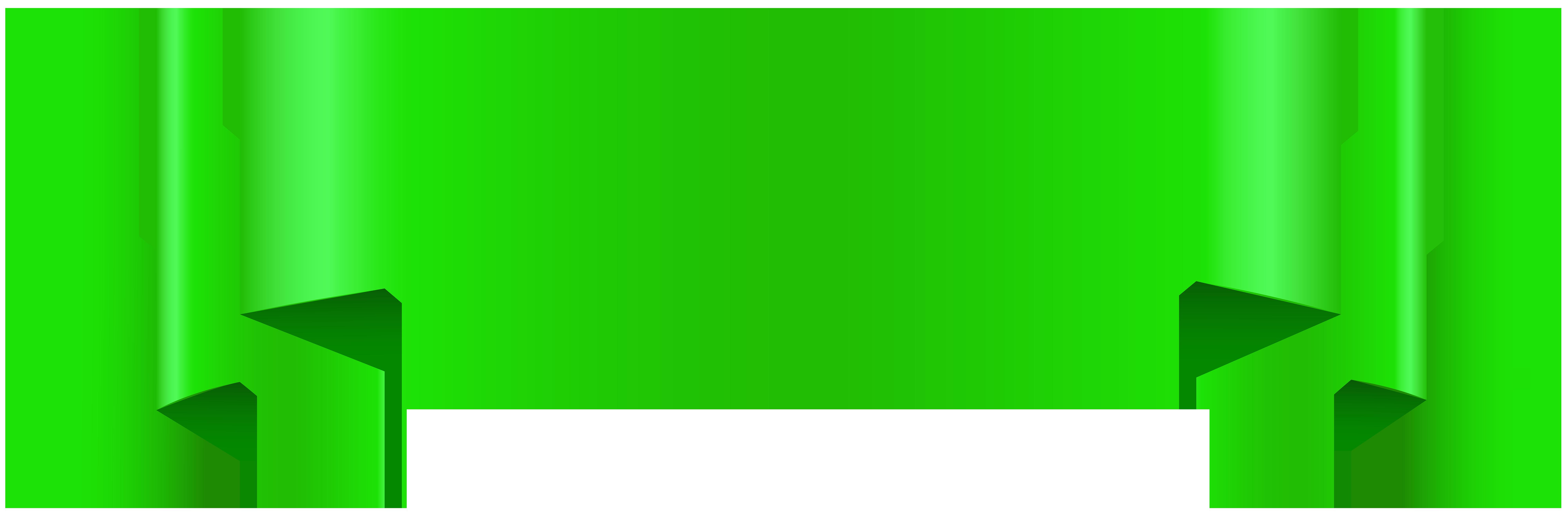 Clipart green clipart transparent download Green Banner Transparent Clip Art | Gallery Yopriceville - High ... clipart transparent download