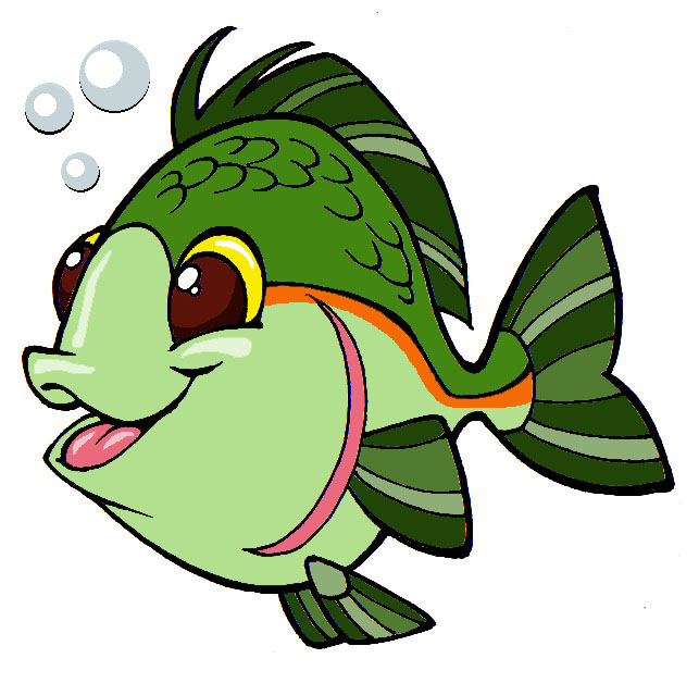 Clipart green fish clip transparent library Free Cartoon Fish Cliparts, Download Free Clip Art, Free Clip Art on ... clip transparent library