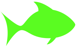 Clipart green fish clip art free stock fish outline green - /animals/aquatic/fish/clipart/outline ... clip art free stock