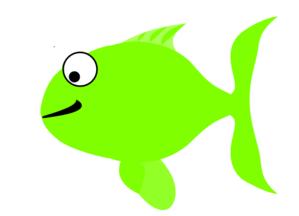 Clipart green fish clip transparent stock Green Happy Fish Clip Art at Clker.com - vector clip art online ... clip transparent stock