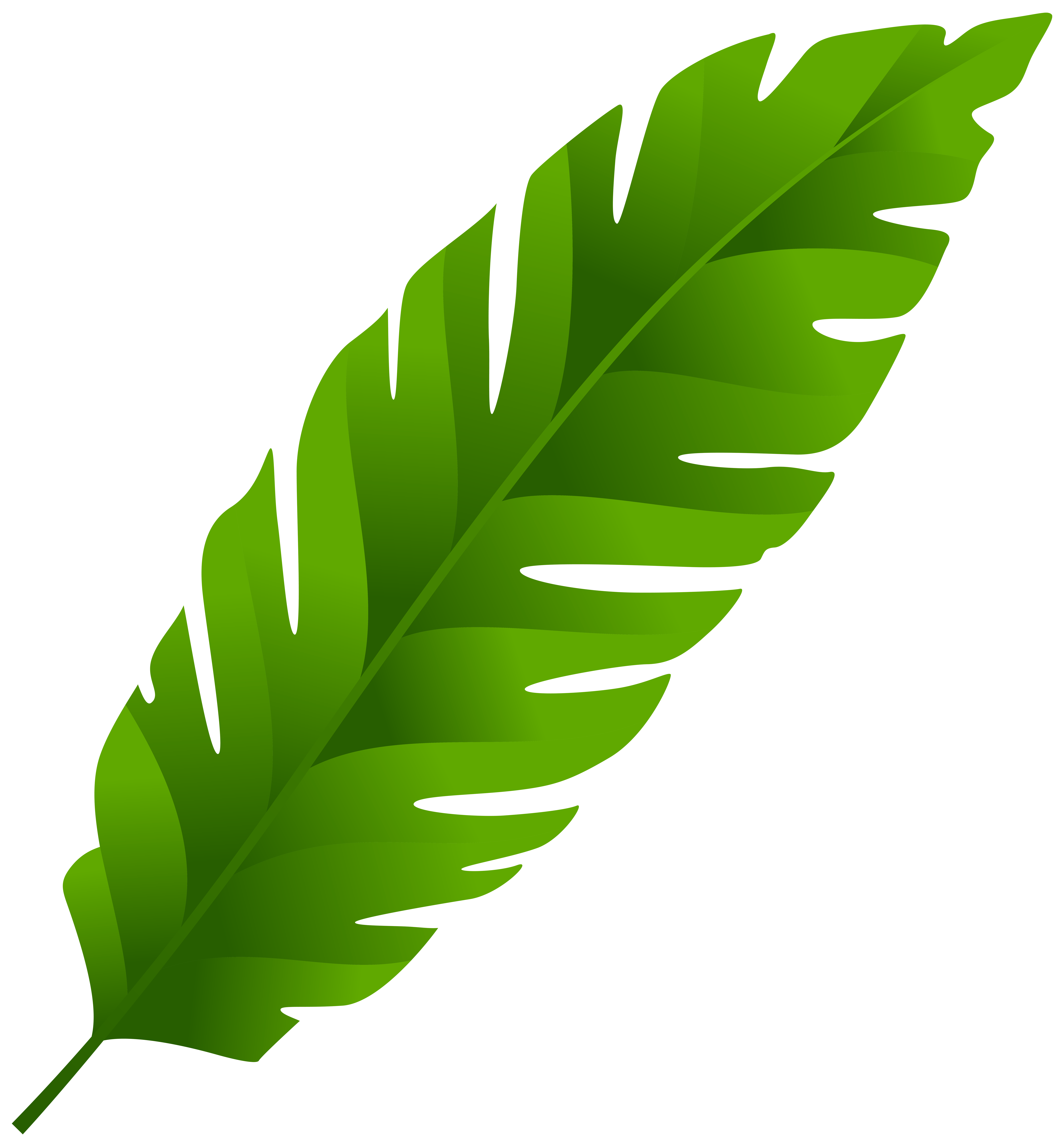 Clipart green leaves svg free library Green Leaf PNG Clip Art - Best WEB Clipart svg free library