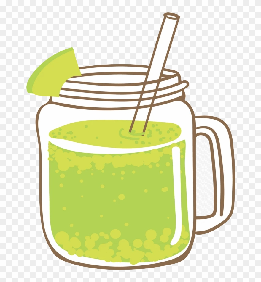 Clipart green smoothie banner freeuse Juice Smoothie Cocktail Lemonade - Green Smoothie Clipart - Png ... banner freeuse