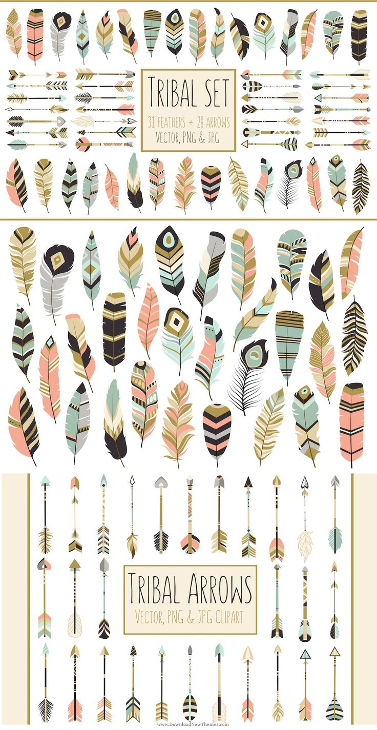 Clipart green tribal arrow right.  best ideas about