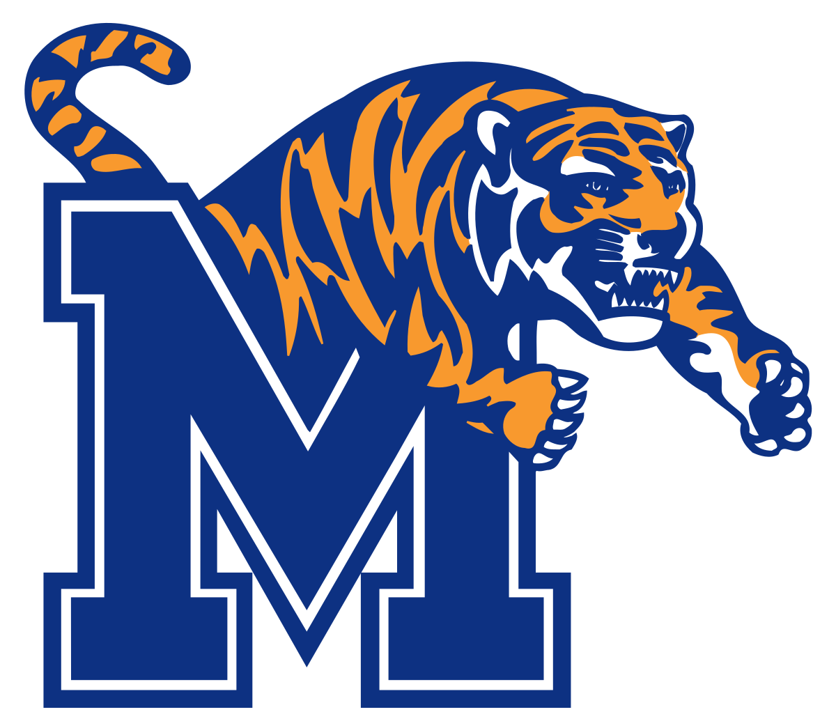 Tiger dunking basketball clipart picture free Memphis Tigers - Wikipedia picture free