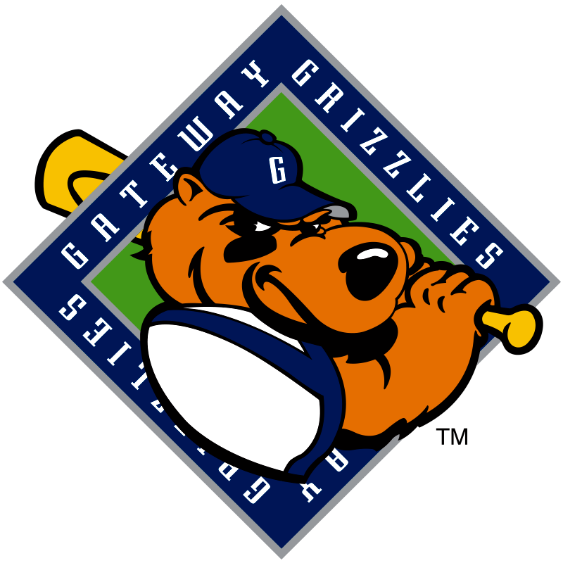 Grizzlies baseball clipart svg royalty free download Gateway Grizzlies | Frontier League svg royalty free download