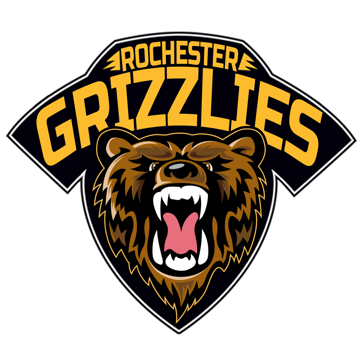 Grizzlies baseball clipart graphic black and white stock Junior hockey: Grizzlies first draft yields familiar names | Local ... graphic black and white stock