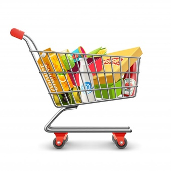 Shopping trolley clipart free graphic transparent download Shopping Cart Vectors, Photos and PSD files | Free Download graphic transparent download