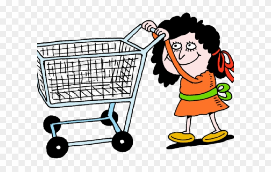 Clipart grocery cart freeuse download Shop Clipart Purchase - Shopping Cart - Png Download (#108635 ... freeuse download