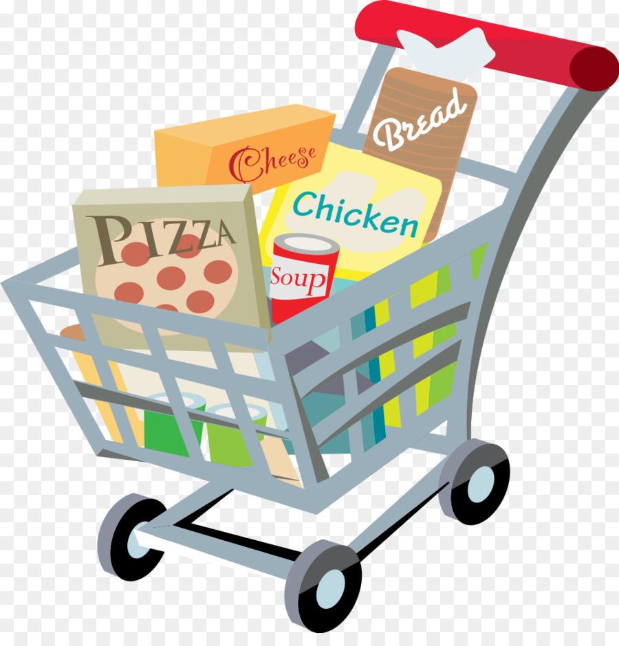 Clipart grocery cart jpg stock Supermarket Cartoon clipart - Shopping, transparent clip art jpg stock