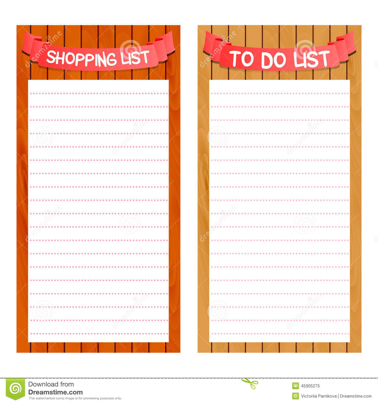 Clipart grocery list free download Blank Grocery List Stock Illustrations – 30 Blank Grocery List ... free download