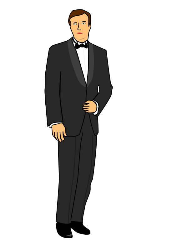Clipart groom jpg royalty free Free Clipart: Groom | Jarno jpg royalty free
