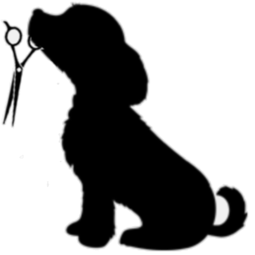 Clipart groomers clip art black and white library Dog Grooming Clipart | Free download best Dog Grooming Clipart on ... clip art black and white library