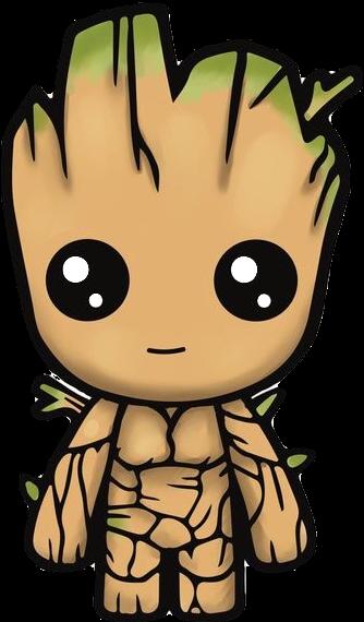 Clipart groot clip free library Groot Iamgroot Cute Kawaii Kawaiigroot Freetoedit - Am Groot Cute ... clip free library