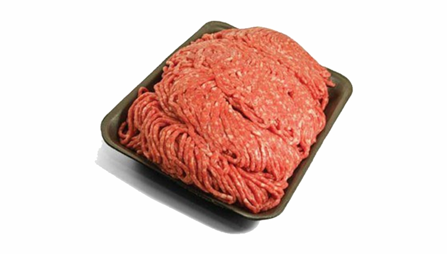 Ground meat clipart picture black and white 80% Lean Ground Beef Family Pack - Ground Beef Not Cooked Free PNG ... picture black and white